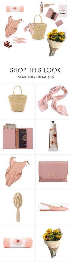 """""""What´s in my bag? The wish edition."""" by leeforlife ❤ liked on Polyvore featuring Sensi Studio, Anthropologie, Royce Leather, TokyoMilk, American Apparel, Burberry, Meraki, Ann Taylor and ban.do"""