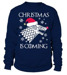 Christmas is Coming - Christmas Sweater | Teezily | Buy, Create & Sell T-shirts to turn your ideas into reality