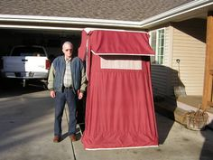 Bought a Roll-A-Home Pop-up Motorcycle Camper Trailer - Harley Davidson Forums Motorcycle Camper Trailer, Pull Behind Motorcycle Trailer, Motorcycle Garage, Motorcycle Design, Motorcycle Style, Harley Davidson Forum, Harley Davidson Chopper, Custom Bobber, New Motorcycles