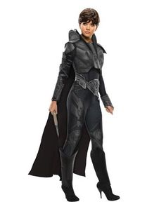 Man of Steel Faora Adult Womens Costume (Sergeant Calhoun)