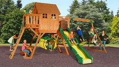 Champ Craft specializes in manufacturing different types of backyard play sets in Ohio. All our products are made from finely treated and high quality pine wood. While shopping at Champ Craft, we ensure the best price and highest quality.