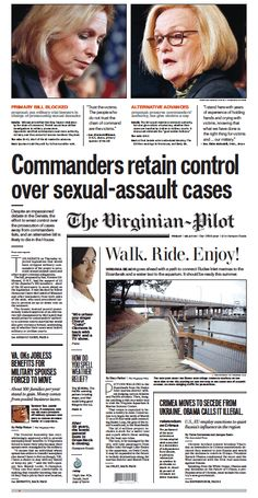 The Virginian-Pilot's front page for Friday, March 7, 2014.