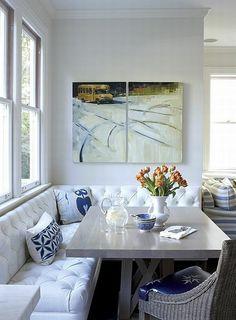 Minimalist Dining Room Design Ideas For Small Space Decor, Nook Furniture, Dining Room Design, Farmhouse Dining Room, Corner Breakfast Nook Furniture, Small Dining Room Decor, Small Dining, Room Layout, Room Decor