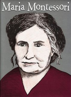 María Montessori fue una educadora, científica, médica, psiquiatra, filósofa, psicóloga, feminista, y humanista italiana.  Estudió ingeniería , luego biología y por último es aceptada en la Universidad de Roma, en la Escuela de Medicina. A pesar de que su padre se opuso al principio, se graduó en 1896 como la primera mujer médico en Italia. En 1907 fundó la casa de los niños y desarrolló allí lo que a la postre se llamaría el método Montessori de enseñanza.