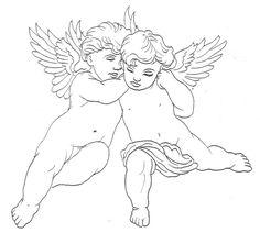 Cupid Cherub Tattoos, Designs And Ideas : Page 10 Trendy Tattoos, Unique Tattoos, Tribal Tattoos, Tattoo Sketches, Tattoo Drawings, 3d Drawings, Cherub Tattoo Designs, Tattoo Oma, Diy Tattoo