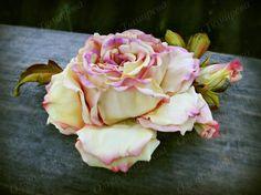 """Роза """" Конфетти"""" (ФоамЭва,фоамиран)"""