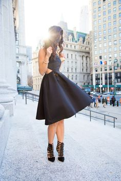 little black dress {new york state supreme courthouse} This Time Tomorrow waysify
