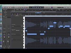 Logic Pro X - Video Tutorial 23 - Flex Pitch and Vocal Tuning - YouTube