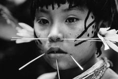 Yanomami community young person tribal Venezuela now