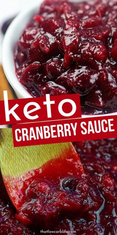 Keto Snacks Discover Keto Cranberry Sauce Keto Cranberry Sauce is the perfect homemade cranberry to serve up this holiday season. Whether for Thanksgiving or Christmas this low carb keto cranberry sauce is dynamite. Keto Foods, Healthy Low Carb Recipes, Ketogenic Recipes, Low Carb Keto, Keto Recipes, Cooking Recipes, Keto Cranberry Recipes, Sauce Recipes, Chow Chow