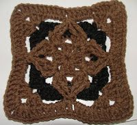 Diamond Granny Square Variation C | Crochet Geek - Free Instructions and Patterns