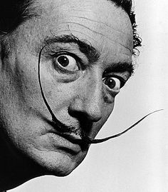 Second graders explored some of the works by Surrealist painter, Salvador Dali. Recognized by his extremely long, unusual mustache, Dali. Famous Mustaches, Yousuf Karsh, Tomie Ohtake, Philippe Halsman, Famous Portraits, Celebrity Portraits, Surreal Portraits, Famous Artists Paintings, Oil Paintings