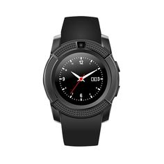 Generic Sweatproof Watch Monitor Smart Watch Phone (Black). The new smart wear pluggable phone card Watch. Functions: monitoring, health monitoring, social entertainment, tracking/alarm, smart reminder, information push, meter, motion tracking, remote autodyne, sleep analysis, and entertainment. Support hands-free calls /Answer or Dial calls from your wrist for Android/iOS. Please note you can see the caller ID on your watch if you sync the contact information through Bluetooth…