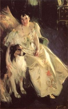 Mrs Bacon by Anders Zorn