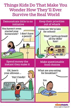 Things Kids Do That Make You Wonder How They'll Ever Survive the Real World | More LOLs & Funny Stuff for Moms | NickMom