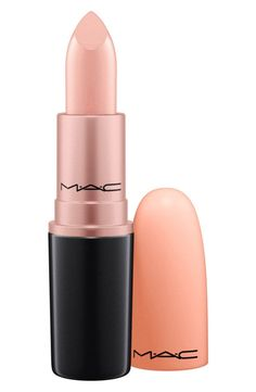 Can't get over how gorgeous this pale peach lip color is!