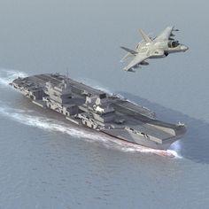 3d model queen elizabeth aircraft carrier