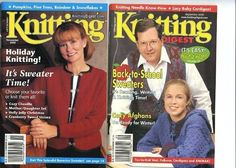 Knitting Digest Magazine Nov 2000  & Sept 2000 Pre-Owned Really Good Condition #KnittingDigest #Backissues #Knittingpatterns