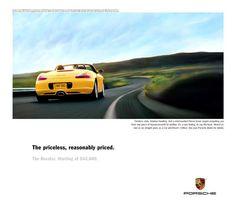 Porsche Boxster ad