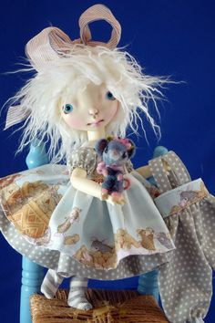 For Connie Lowe Sprocket dolls Little Muzzy Mouse Play por nippykat