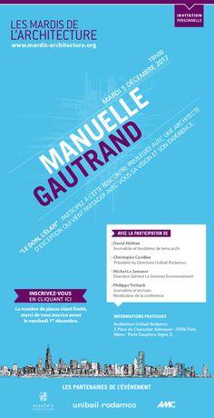 Les Mardis de l'Architecture #12 Manuelle Gautrand