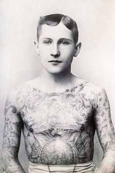 33 Badass Pictures From The Golden Age Of Tattoos