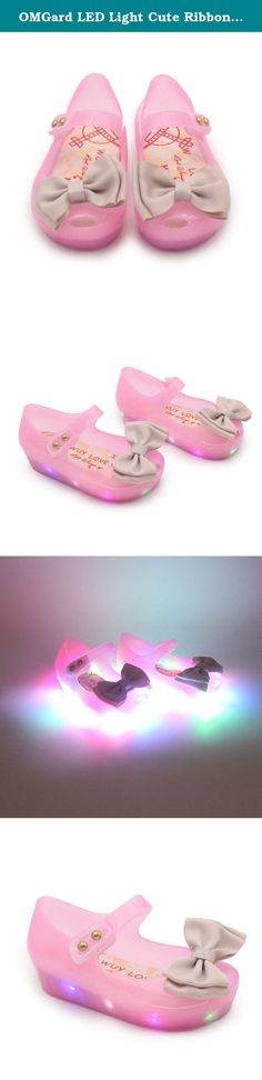 OMGard LED Light Cute Ribbon Bow Princess Minnie Sandals Jelly Shoes Kid Girl Gift Toddler. The Recommended US size are just for reference only, Please check the shoes length as standard when choosing the size, Thanks! Quality: AAA++++ Theme: Casual Style Main Material: Rubber Color may be little different due to monitor, thanks for your understanding. Please reference the size chart to select shoes for your baby, thank you. Please choose the shoes according to your baby feet length! Size...