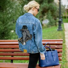 Michael Jackson Denim Jacket Womens Jean Jacket for Casual | Etsy Types Of Jackets, Jackets For Women, Coachella, Harley Quinn, Michael Jackson, Japanese Bomber Jacket, Nasa Jacket, Tommy Hilfiger Jackets, Oversized Denim Jacket