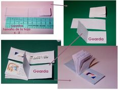 Mini Book Tutorial http://www.mundorecetas.com/8/viewtopic.php?f=50&t=332288&st=0&sk=t&sd=a&start=630