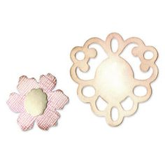 Sizzix - Originals Die - Jewelry - Die Cutting Template - Medium - Frame and Sculpted Flower at Scrapbook.com $11.99