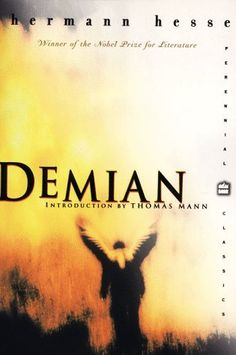 Perennial Classics: Demian by Hermann Hesse Paperback) for sale online I Love Books, Books To Read, My Books, Book Writer, Book Authors, Demian Hermann Hesse, Book Log, Reading Rainbow, Book Club Books