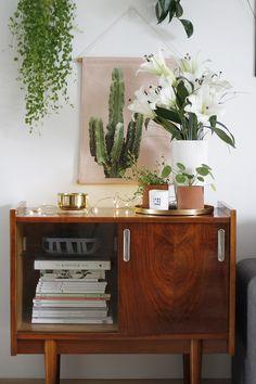 My New Room, My Room, Golden Mirror, Eclectic Decor, Decoration, Credenza, Interior Inspiration, Liquor Cabinet, Interior Design
