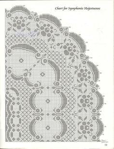 Овальная скатерть Величественная-симфония крючок схема 2