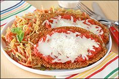HG's Reduced-Fat #Eggplant Parmesan #recipe... MUST PIN & TRY!