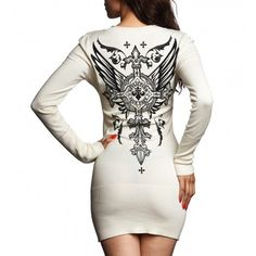 SILVER HEART L/S VNECK SWEATER - New Arrivals - Womens