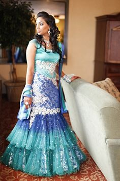 Indian wedding dress. So pretty.