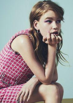 Hollie May Saker by Nick Dorey for Miss Vogue Australia #2