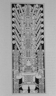 Chavin Depiction of the Staff God.