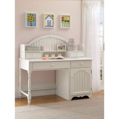 899.99 Westfield Hillsdale Desk and Hutch - RC Willey Home Furnishings