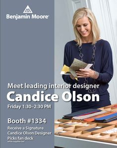 To those of you attending IDS in Toronto this weekend, please stop in the Benjamin Moore booth and let's talk about color! Benjamin Moore Colors, Benjamin Moore Paint, Colour Architecture, Candice Olson, Color Trends, Toronto, Interior Design, House Styles, Classic