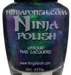 Ninja Polish - Alexandrite. Want. Ninja Nail Polish Lacquer Floam Holographic metallic effect nail polish @opulentnails #ninjanails #floam