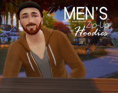My Sims 4 Blog: Zip Up Hoodies for Males by MarvinSims