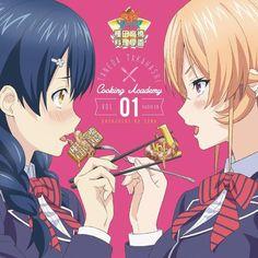 Shokugeki no Soma// Tadokoro Megumi and Erina Nakiri