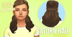 Sims 4 CC's - The Best: Hair by Mango Sims