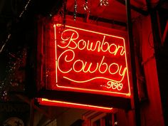 Bourbon Cowboy  516 Bourbon Street  New Orleans, LA 70130  ride the bull and listen to boot scootin' country music