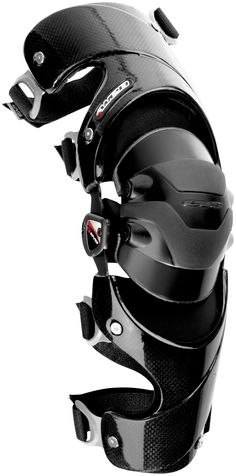 EVS Web Knee Brace - Left , Size: Md, Distinct Name: Black, Primary Color: Black, Gender: Mens/Unisex XF72-3168