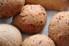 Healthy Coconut Flour Psyllium Husk Bread Rolls