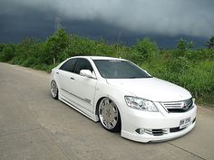 toyota-camry-white-4 - Rides & Styling