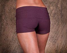 Womens Shorts Yoga Shorts Hot Pants Yoga Clothing by eleven44 - $36.00