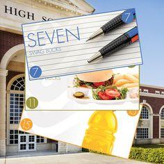 High School Collector's Bills #BackToSchool